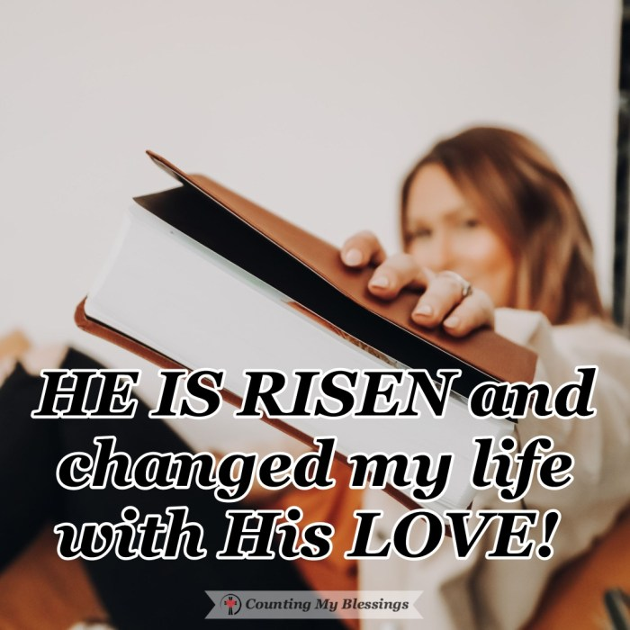 There is a life-changing message that is able to change everything . . . a message of faith, hope, and love. One that is worth sharing again and again. #Easter #Hope #Jesus #CountingMyBlessings #BlessingBloggers