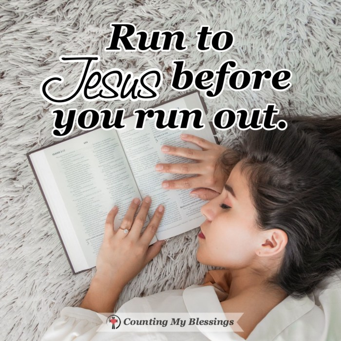 """It's so easy for us to rely on self-sufficiency but on our own, we will never have or be """"enough."""" But when we run to Jesus in faith, He will give His best. #BibleStudy #Faith #TrustJesus #CountingMyBlessings #BlessingBloggers #WWGGG"""