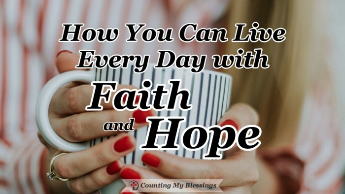 Life is full of highs and lows and we need faith and hope to manage it all. Jesus promised to give His followers the Spirit who will give what they need. #Faith #Hope #BibleStudy #CountingMyBlessings #WWGGG