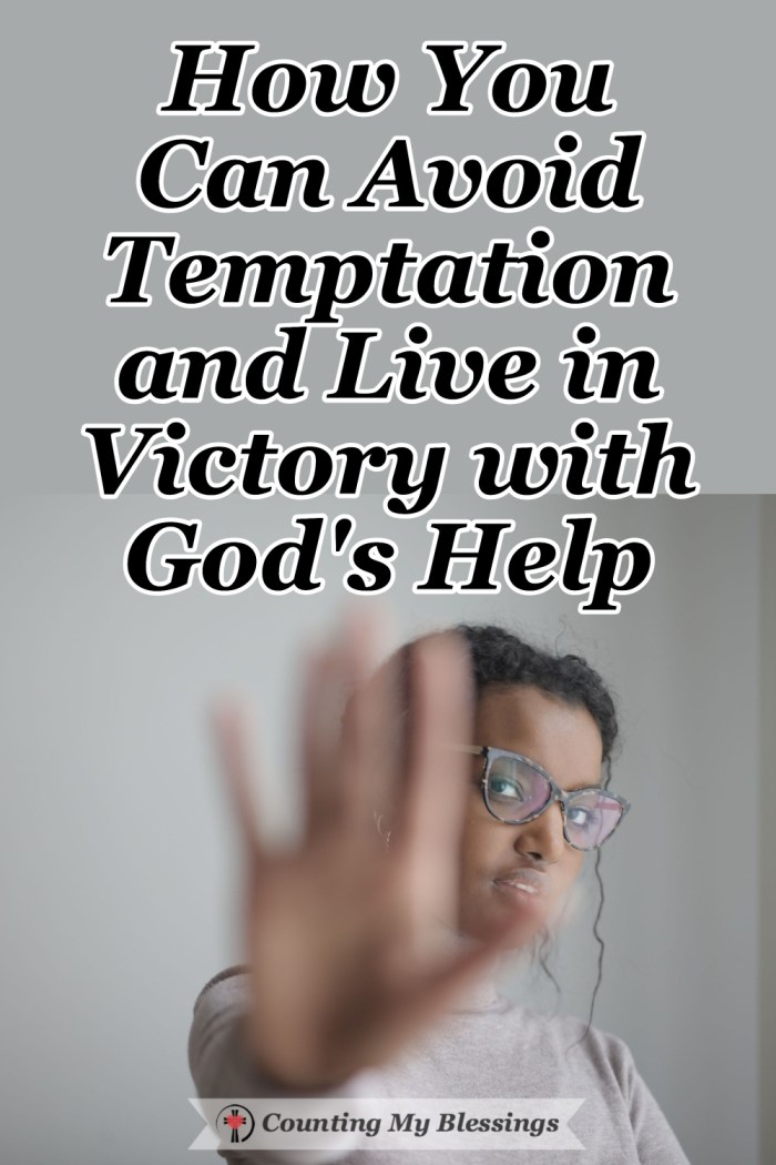People have always blamed others for their sins and failures. But God has given us a better way, one that helps us avoid temptation and live in victory. #Temptation #Victory #God'sStrength #Blessings