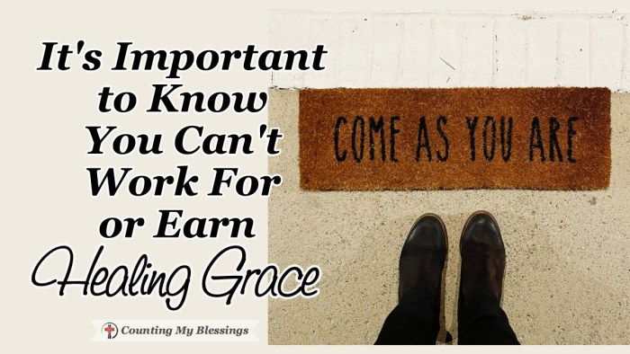 Research indicates that nearly half of all Christians believe salvation can be earned not that we are sinners completely in need of God's healing grace. #Grace #Heaven #Jesus #Blessings