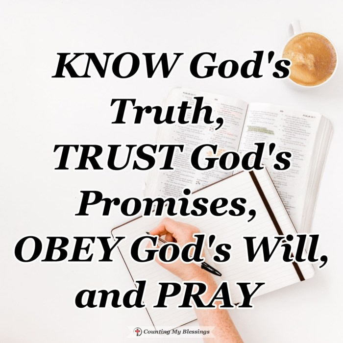 If we want to avoid false teaching, you and I need to faithfully read the Bible to KNOW God's Trust, TRUST God's Promises, and OBEY His Will. #BibleQuotes #God'sPromises #BlessingBloggers