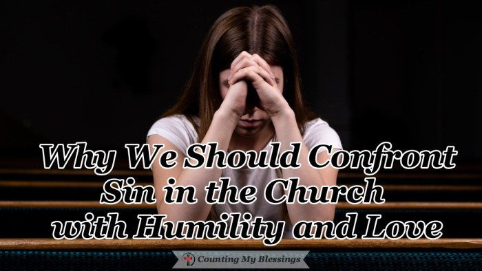 Should we confront sin in the church or ignore it? Paul shares God's wisdom on why this is important in his letters to the Church in Corinth. #BibleStudy #ChristianLiving #BlessingBloggers