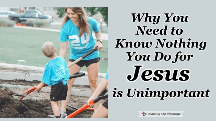 Do you ever wonder if the things you are doing to serve Jesus aren't making a difference? We may not see it ourselves but God makes things happen. #Jesus Blessings Doforothers #BibleStudy