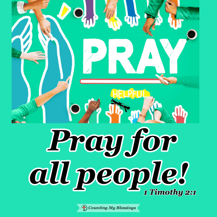 The Bible tells us to pray for all people those we love AND those we don't. It certainly doesn't come naturally but with God . . . everything is possible. #Prayer #BibleStudy #Faith #Blessings