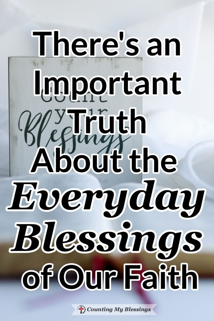 If we only trust in Jesus as the Way to heaven we will be missing out on the everyday blessings of faith that God wants for us to enjoy right now. #Blessings #BibleStudy #FaithinJesus