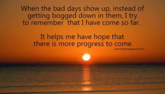 Sunday Inspiration: Progress Amnesia