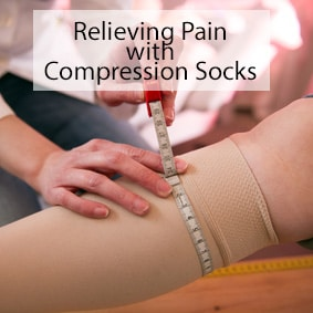 Relieving Pain & Inflammation with compression socks