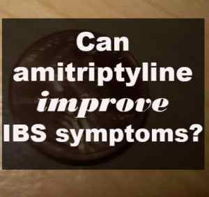 Can amitriptyline improve IBS symptoms?