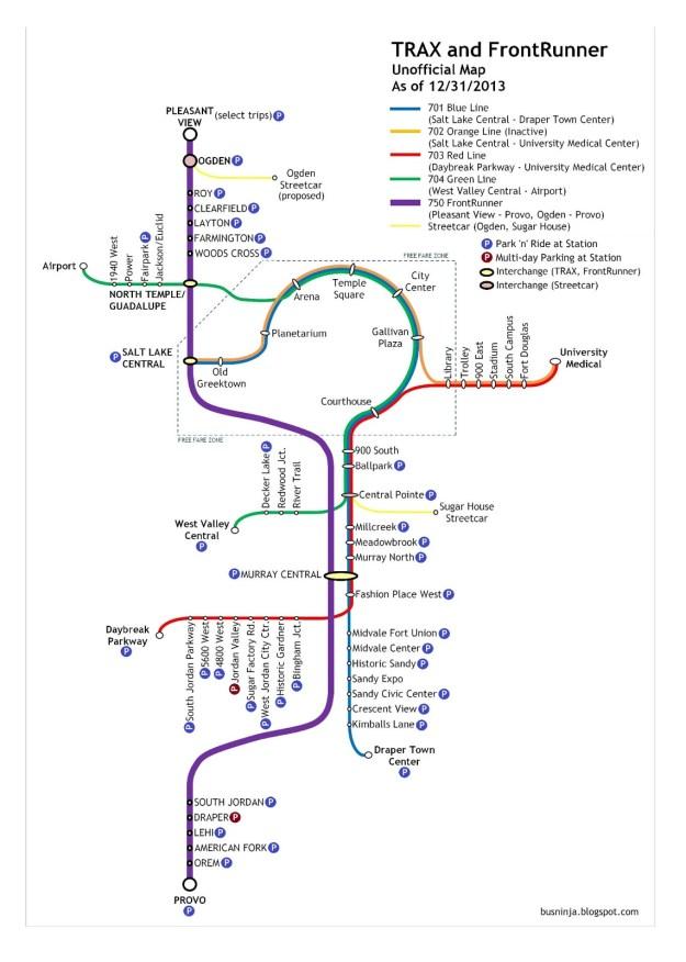 Map by BusNinja.