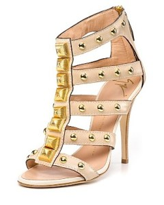 "An example of an ""oh so hot, but painful"" Giuseppe Zanotti shoe… sans platform"