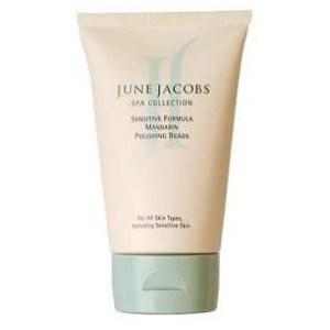 June Jacobs Sensitive Formula Mandarin Polishing Beads lotion
