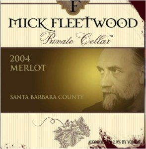 Mick Fleetwood Private Cellar Private Cellar 2004 Merlot