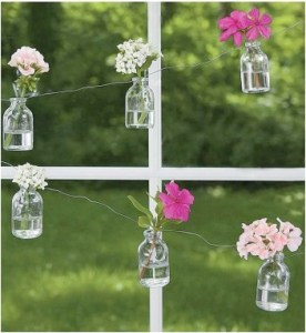 Bottle Flower Garland