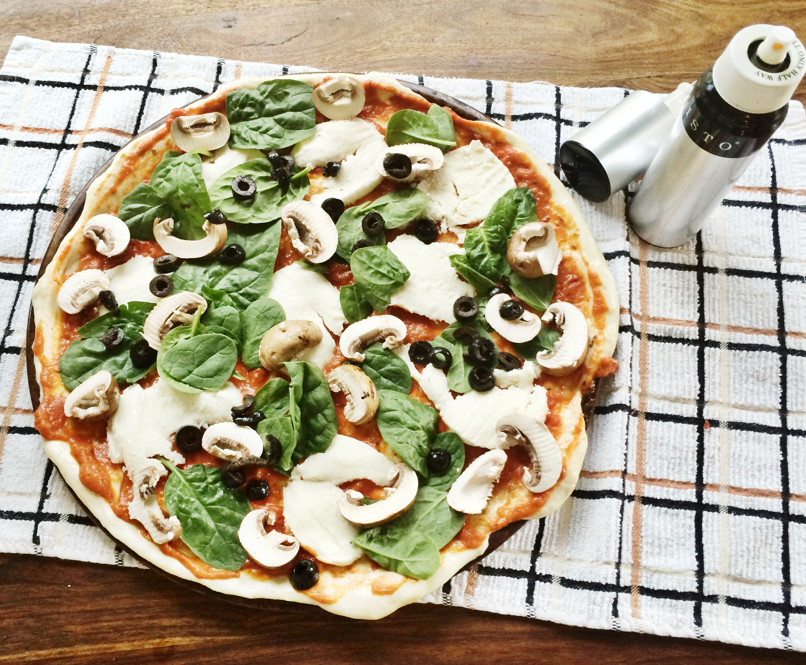 A Healthier Pizza. Spring and Chelsea