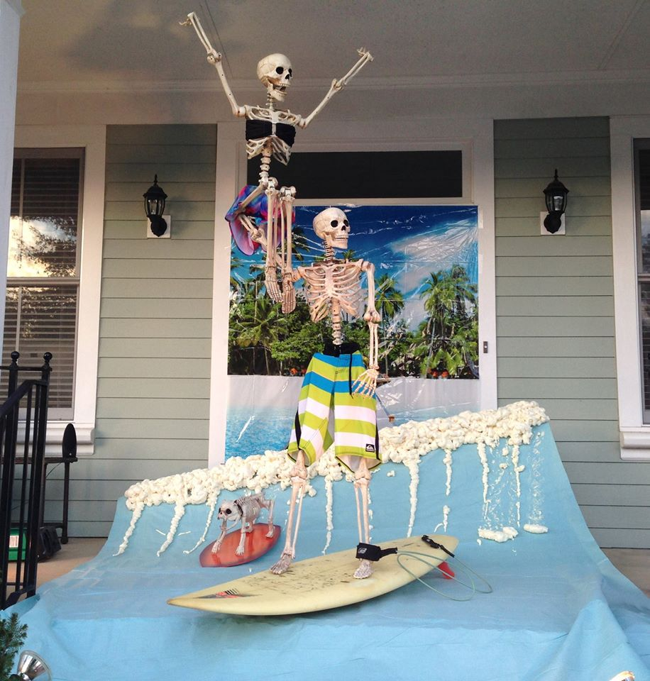 Baxter Skeletons: The Most Creative Halloween Decorations You Will Ever See