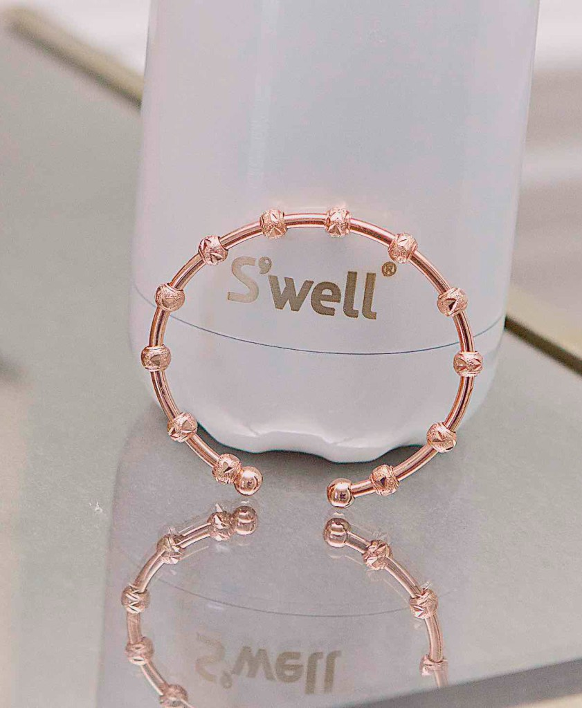 Rose Gold Journal Bracelet by Chelsea Charles