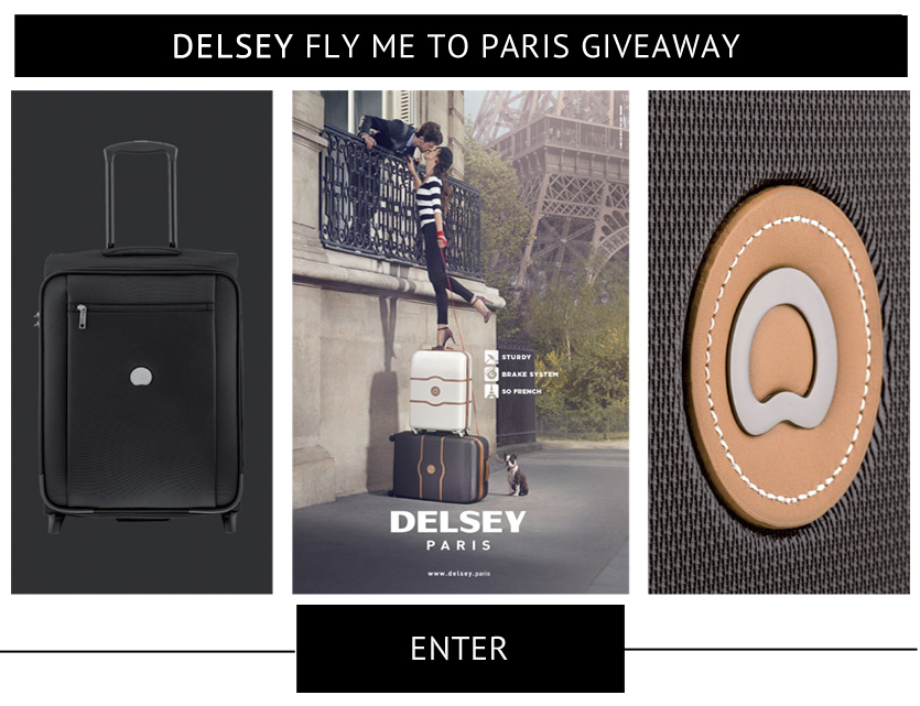 Fly Me TO Paris Giveaway Entry Form Delsey