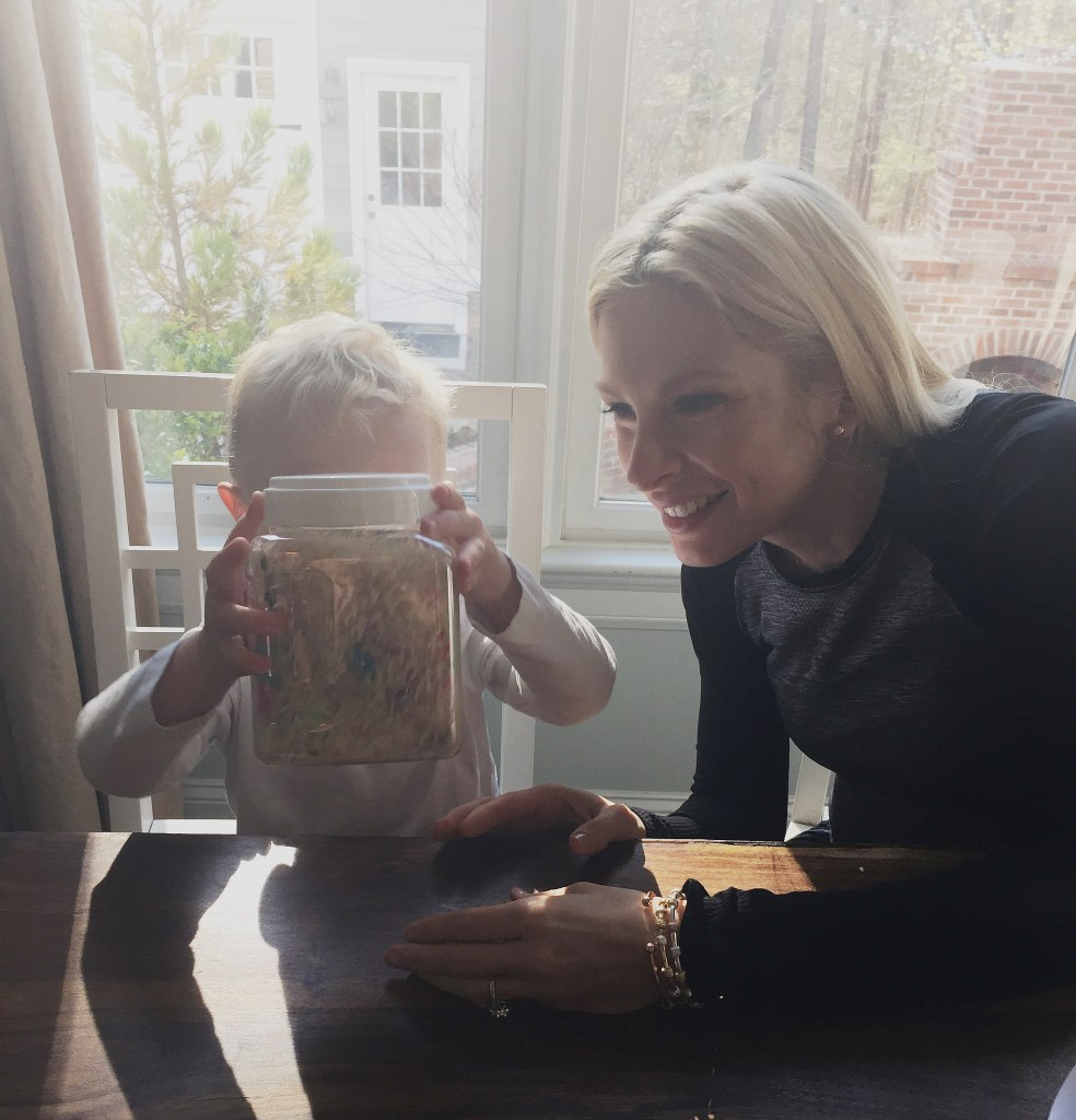 Create a Toddler eye spy bottle