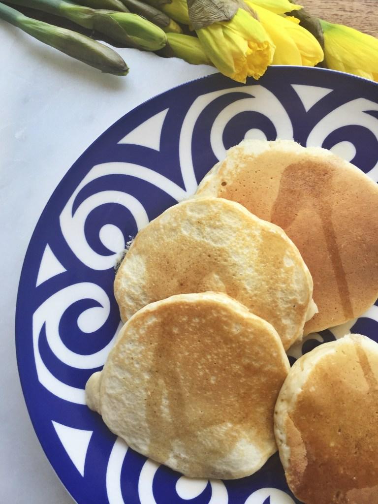 healthy pregnancy protein pancakes