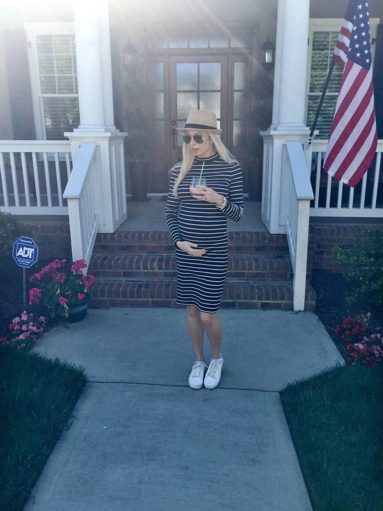Chelsea Charles 21 weeks pregnant