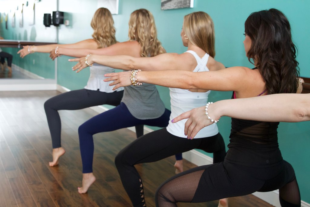 Barre Instructors Wearing Count Me Heathy Bracelets via Count Me Healthy