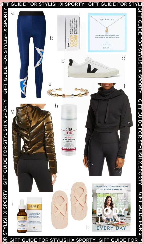 healthy holiday gift guide for the stylish and sporty