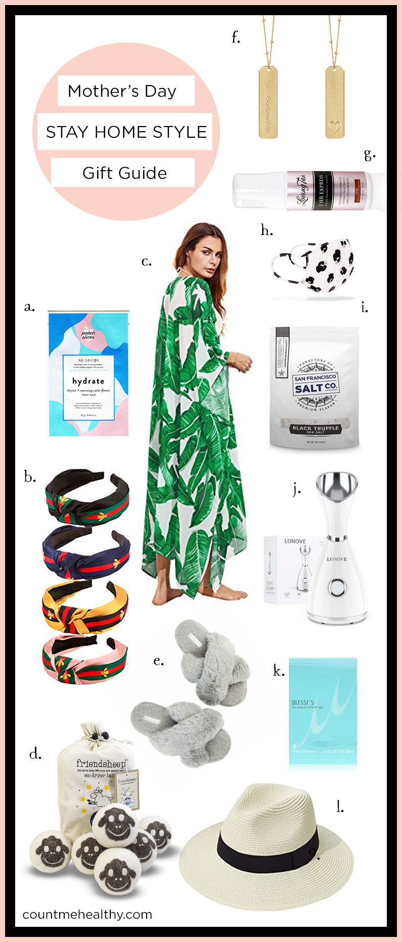 Mother's Day Gift Guide- Stay Home Style