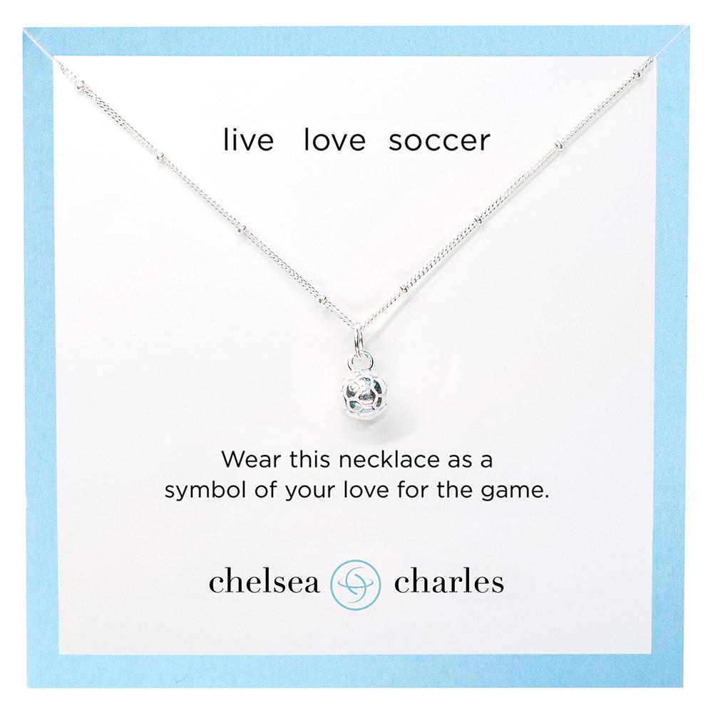 CC Sport Soccer Jewelry. Pretty sports jewelry by Chelsea Charles