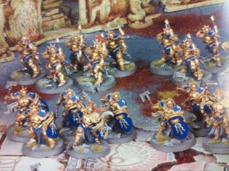 Age of Sigmar overview of Stormcast Ethernal warriors from both the starter set and new upcoming models