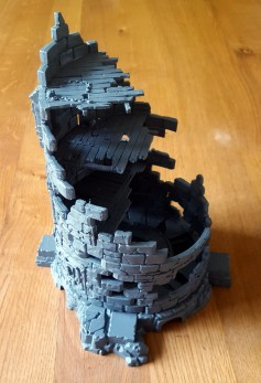 Crumbling walls in Dreadstone Blight by Games Workshop
