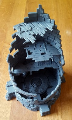 Interiour of an expanded Dreadstone Blight by Games Workshop