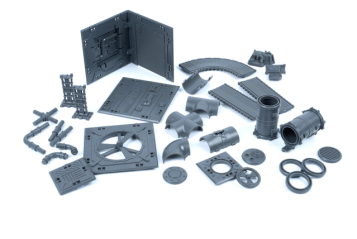 Various parts from the Industrial Battle Zones