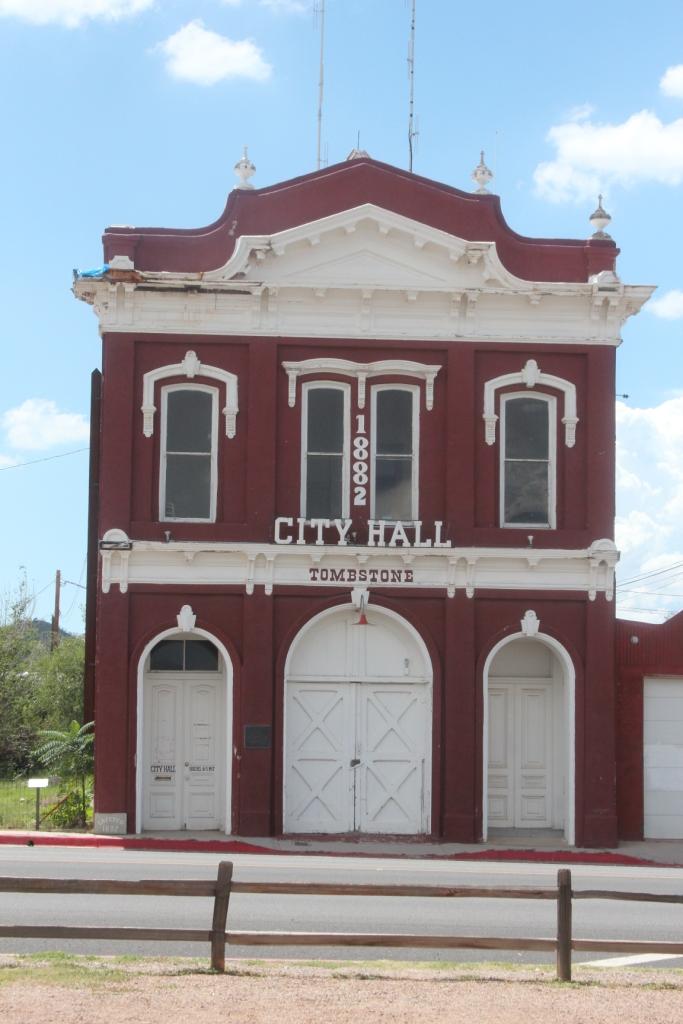 Tombstone - la mairie