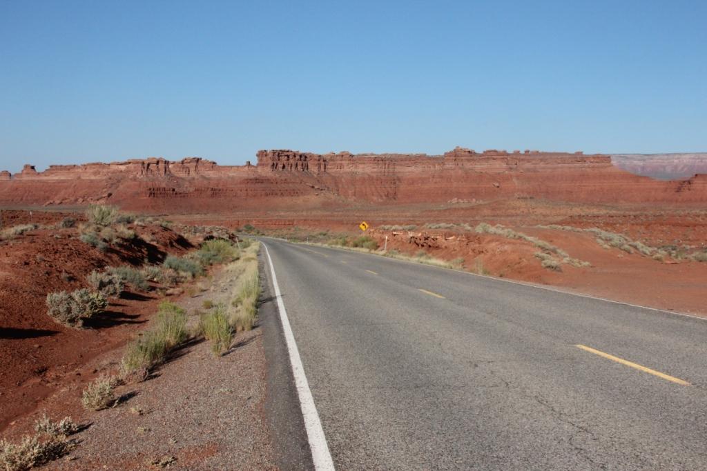 En route vers le Canyon de Chelly