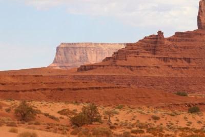 Monument Valley, les nuances de rouges