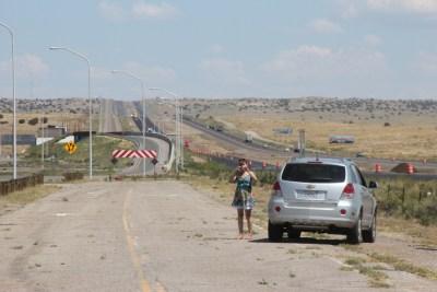 Nous avons marché sur la vraie Route 66 !