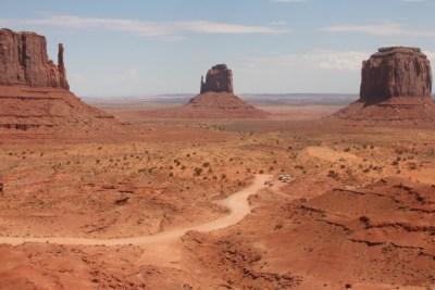 Monument Valley, les sentiers de visite