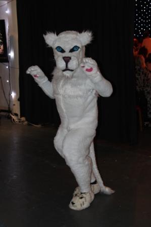 Danick le lion blanc