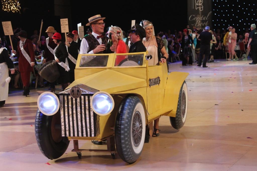 La voiture de Gatsby le Magnifique