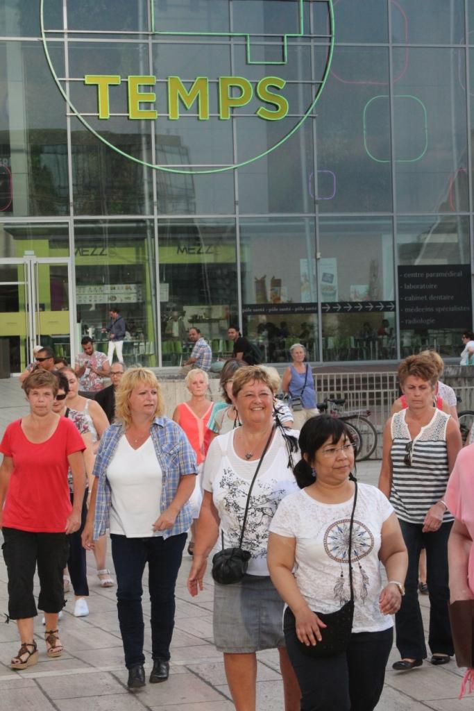 Danse à la Défense, été 2016