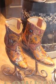 Bottes western magnifiquement travaillées