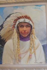 La première épouse de Kit Carson, une Arapahoe nommée Waa-Nibe