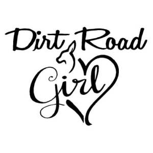 dirt road girl decal – Country Boy Customs Store