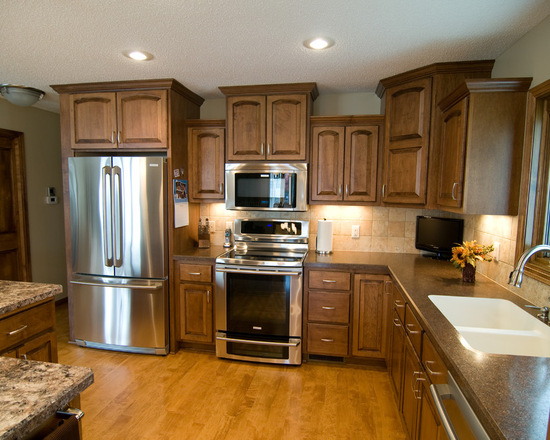 Custom Kitchen Maple Cabinets Country Cabinets