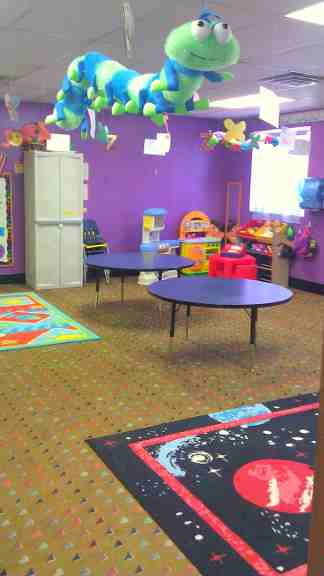 Bug Room (3-4 year olds pres-choolers)
