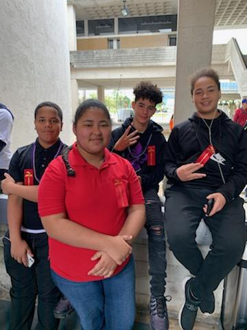 Students participated in Robotics Competition at the annual SECME event at Miami Dade College North Campus.