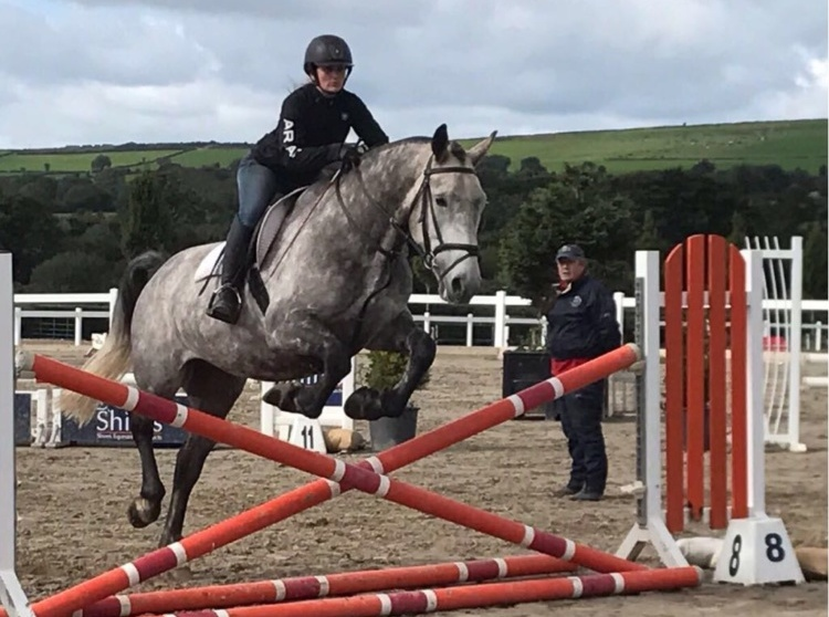 Horse Riding Jumping Lesson with Kieran