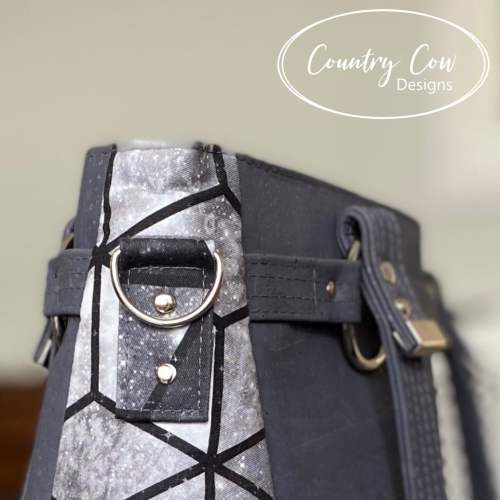 Lomexa Handbag - Sewing Pattern by Country Cow Designs