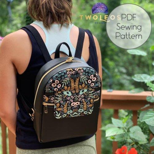 Trekoda Backpack - PDF Sewing Pattern